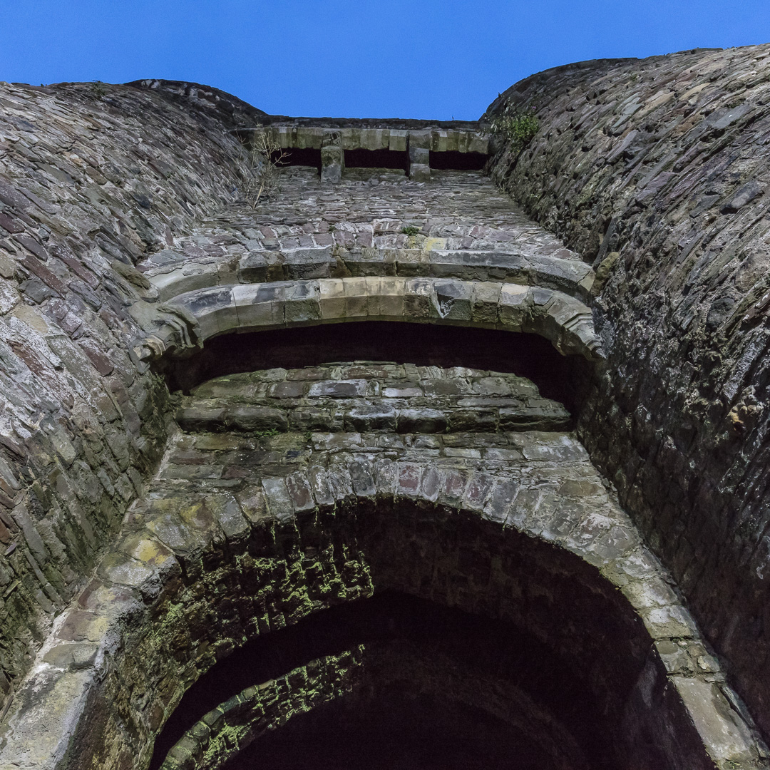 Gatehouse, Carmarthen Castle, Gwent.