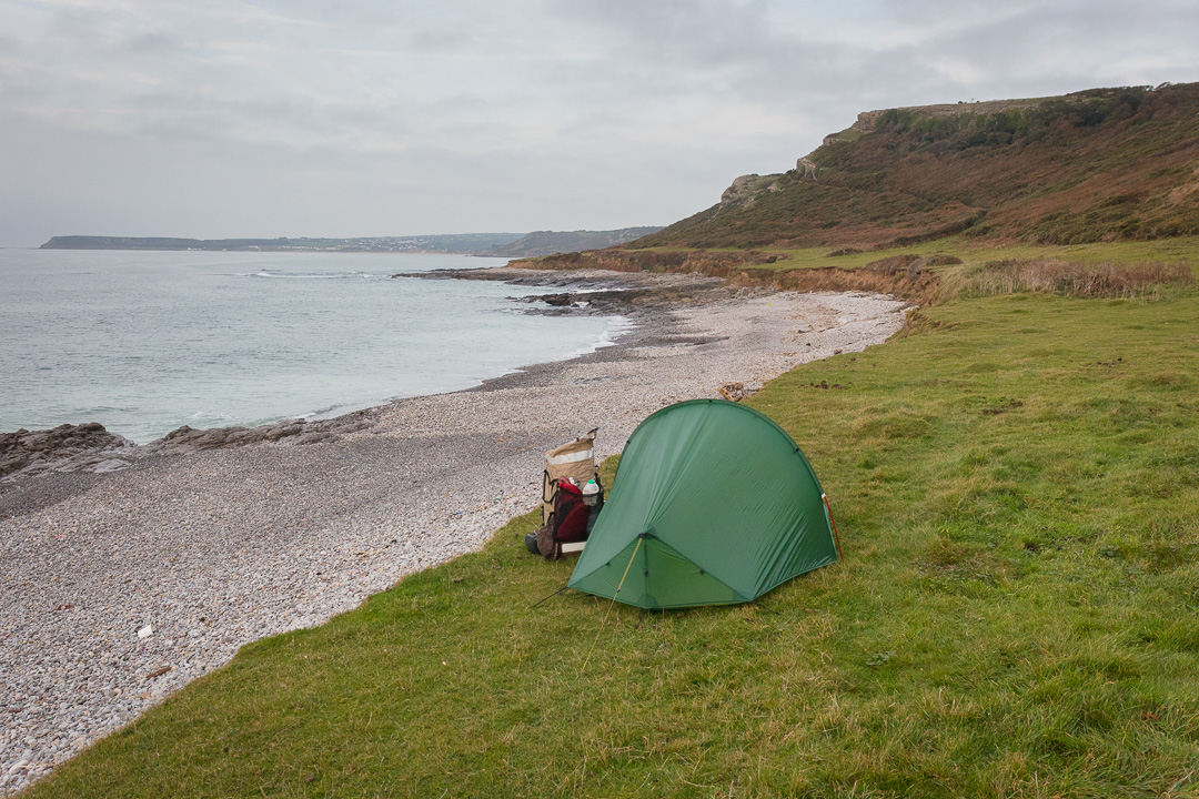 Camp, Oxwich Point, Gower, Glamorgan.