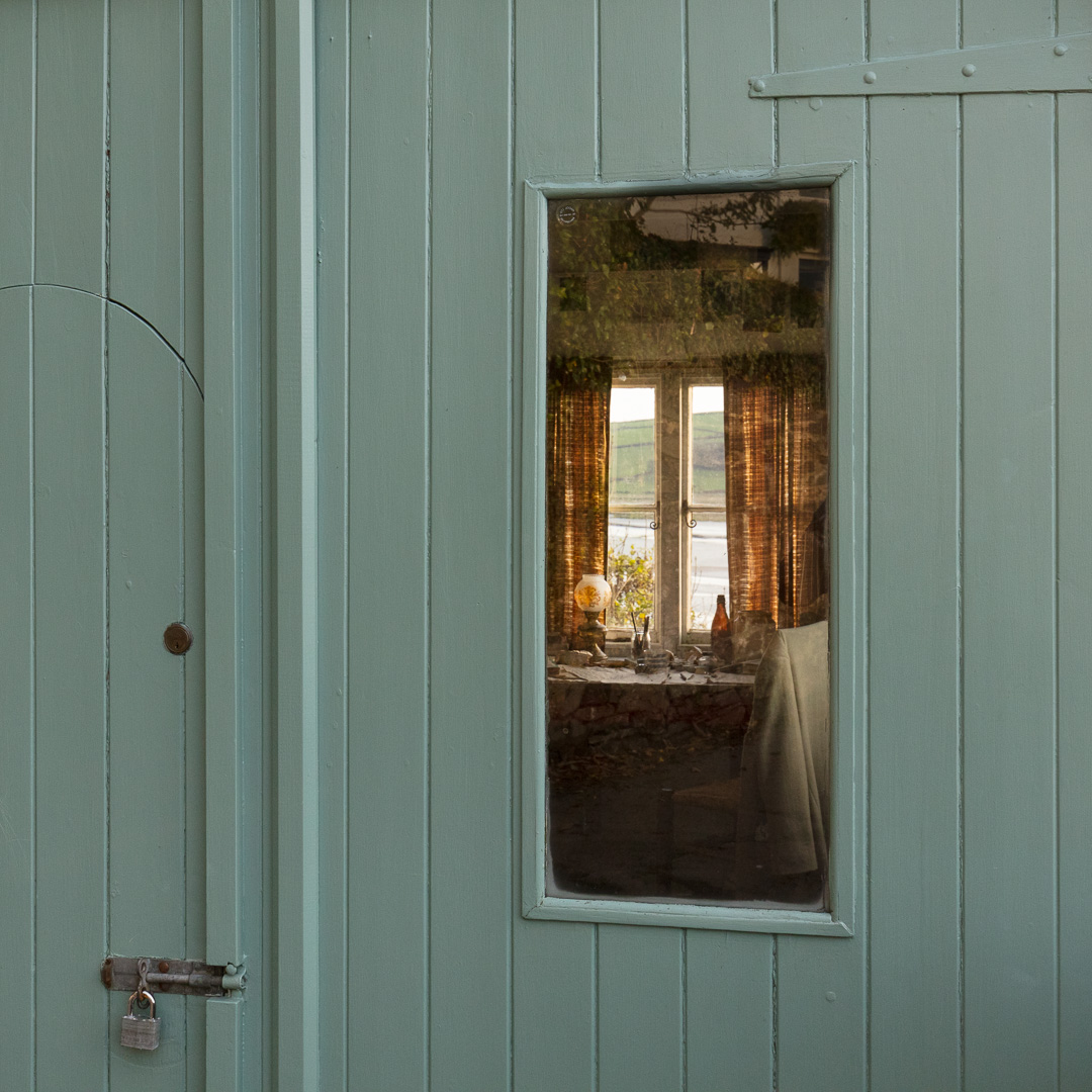 Dylan Thomas' writing shed, Laugharne, Dyfed.