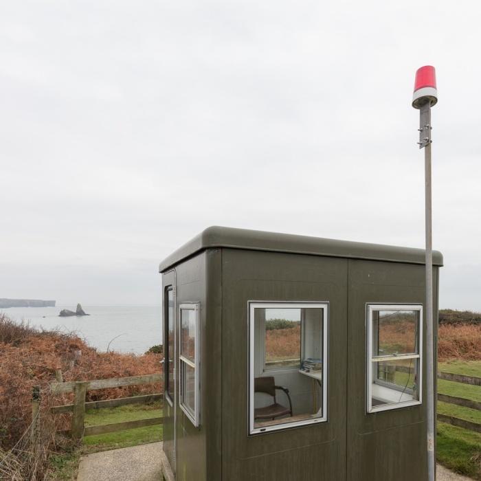 Sentry box, Castlemartin range East, Pembrokeshire.