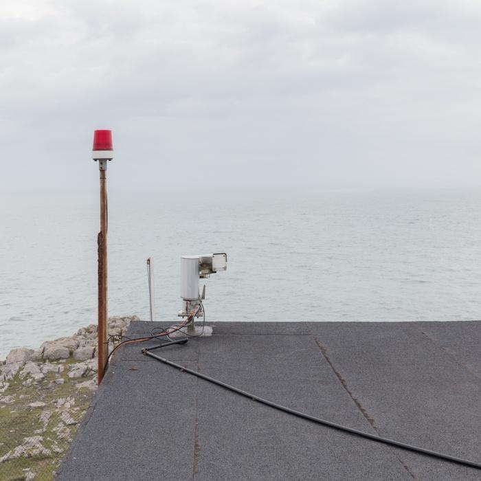 Coastguard Lookout, St. Govan's Head, Castlemartin range East, Pembrokeshire.