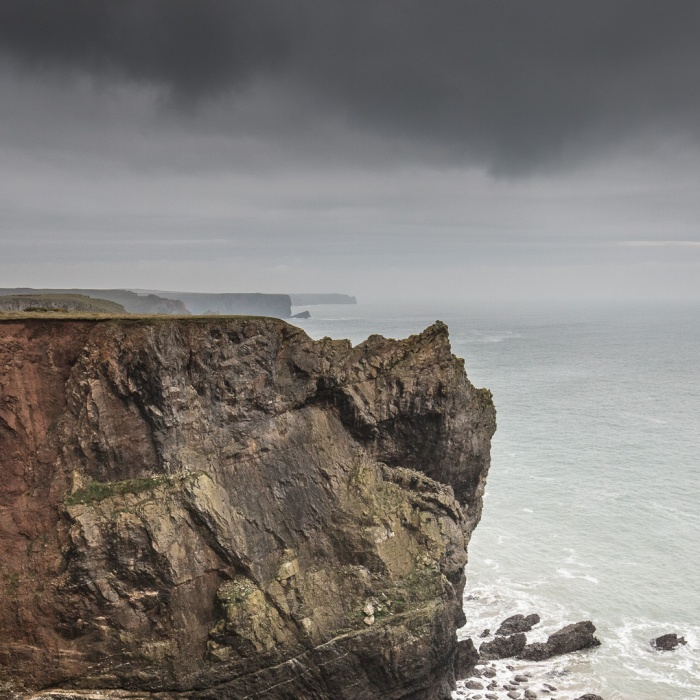 Flimston Bay, Pembrokeshire.