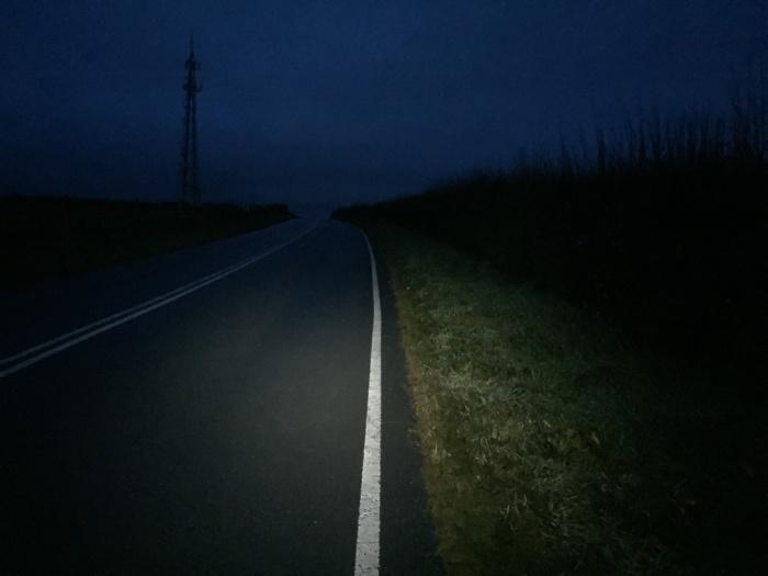 Night hiking to Pembroke, Pembrokeshire.