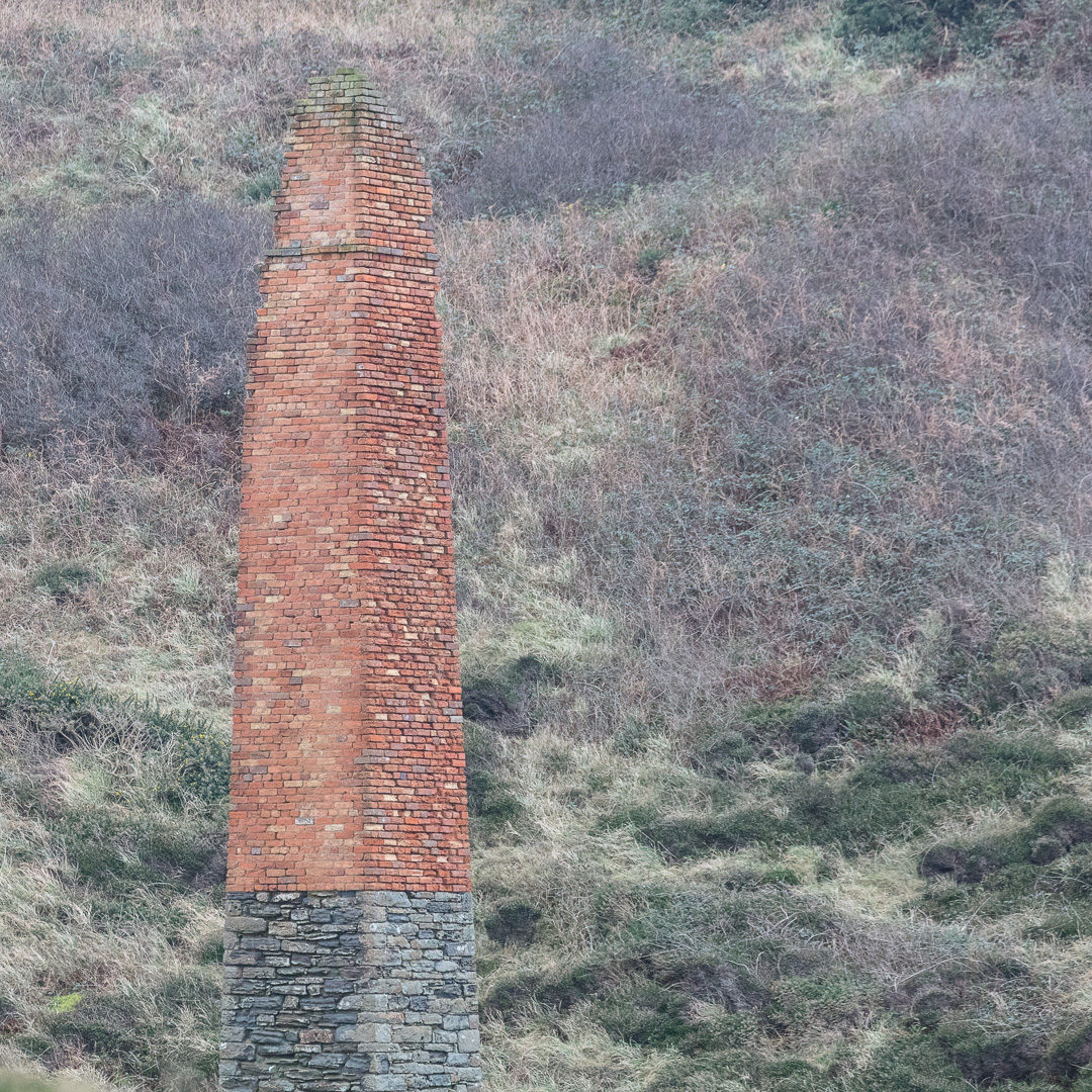 Trefrane Colliery, Engine House Chimney, 1850s, Pembrokeshire.