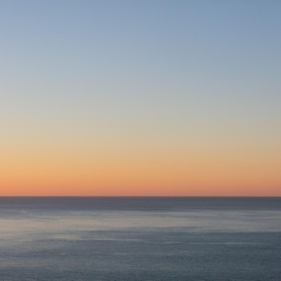 Dusk Seascape, St Geoege's Channel, Pembrokeshire.