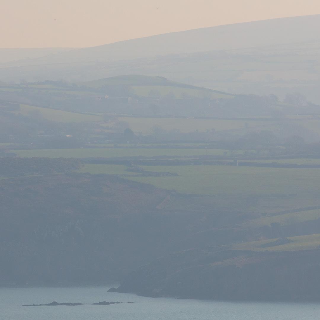 Hills above Fishguard, Pembrokeshire.