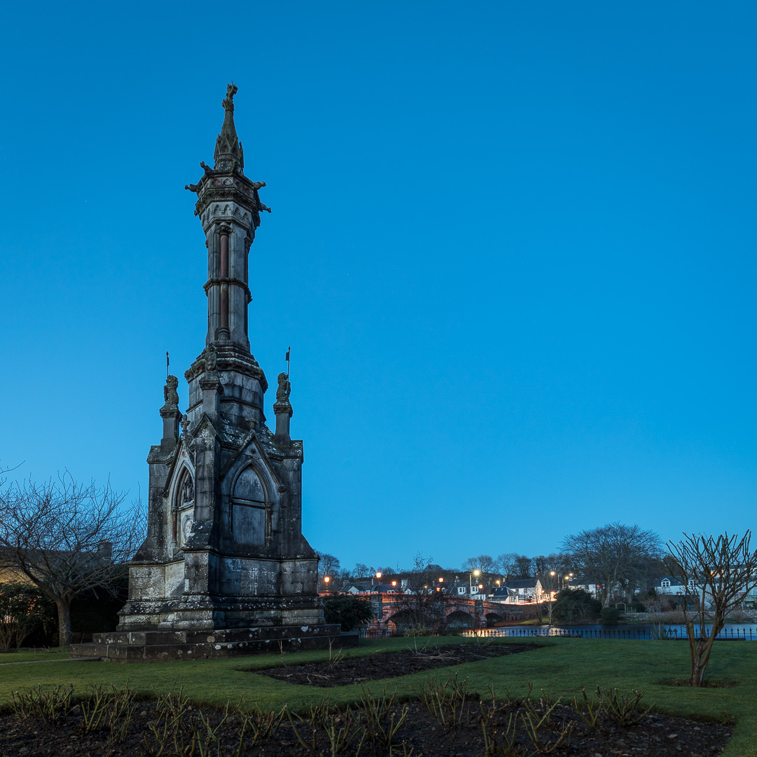 Monument to the Ninth Earl Of Galloway, Newton Stewart, Dumfries