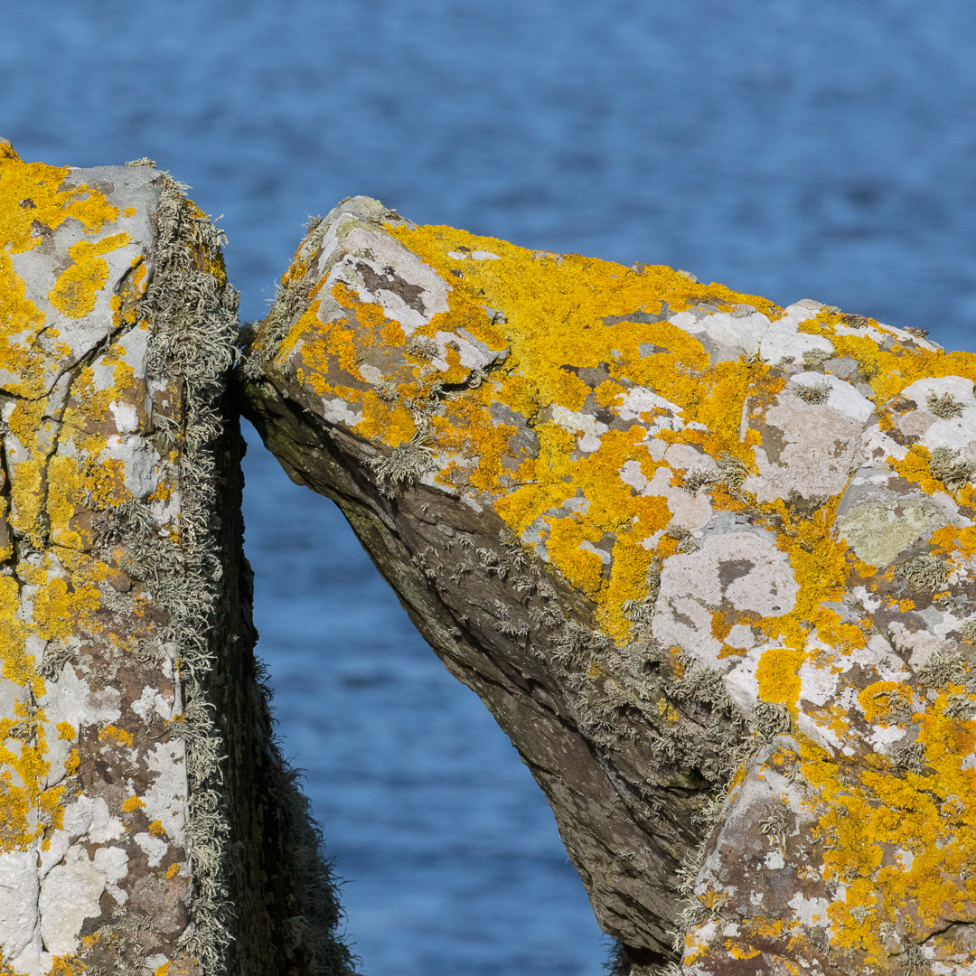 Kissing Stones, Portyerrock Bay, Dumfries and Galloway, Scotland.