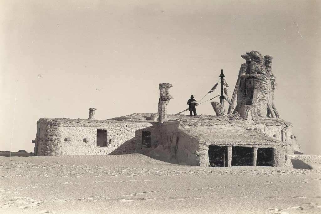 Historic photo of observatory during use from 1881 to 1904.